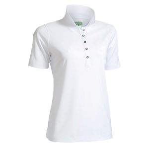 Dame Performance Polo, Hvid