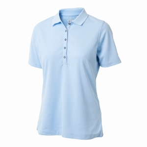 Dame Performance Polo, Blue Bell
