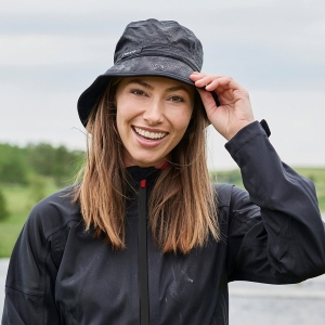 BACKTEE Regn Hat, Sort